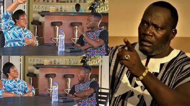 Mama Yaa, caretaker of late Kumawood actor, Bishop Bernard Nyarko
