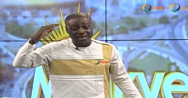 Captain Smart, the host of the Onua TV breakfast show