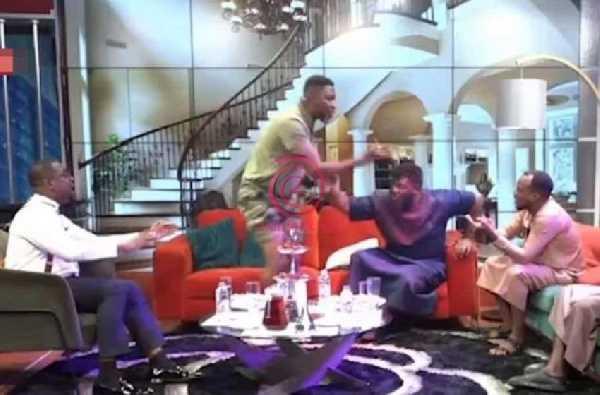 The two clashed on the United Showbiz program on UTV
