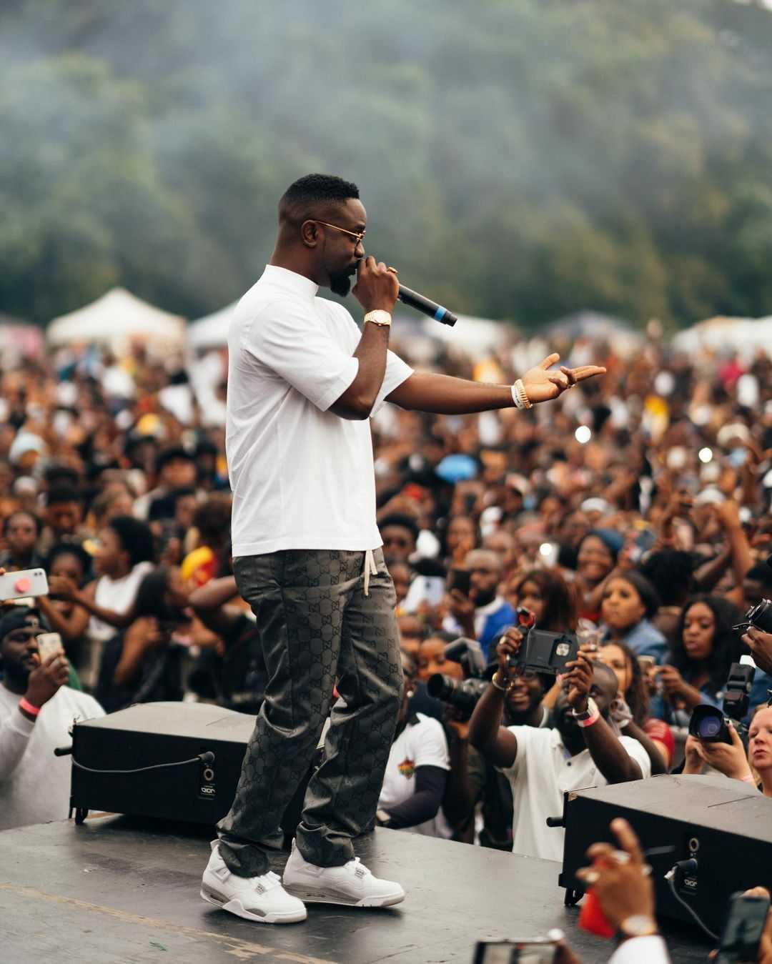 Rapper Sarkodie