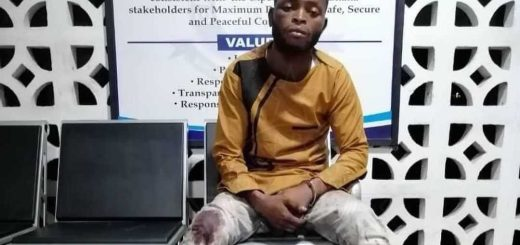 Armed robber and murder suspect Godstrong tettey