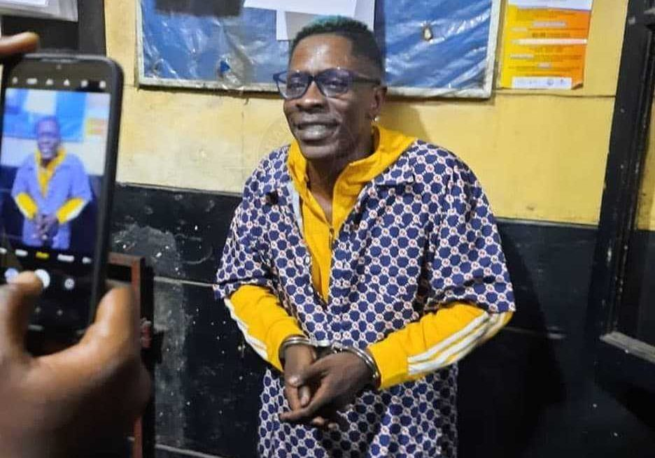Shatta Wale arrested by the Ghana Police