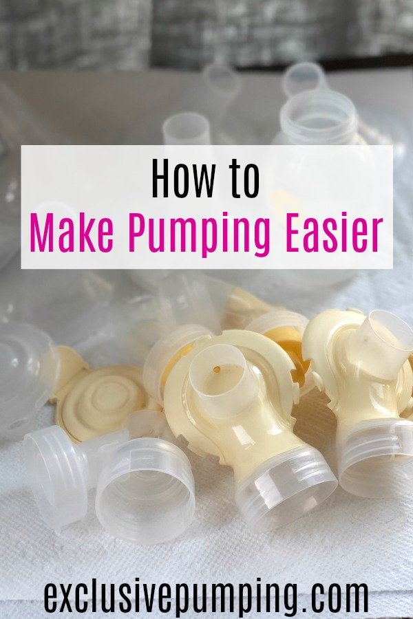 How to Make Pumping Easier