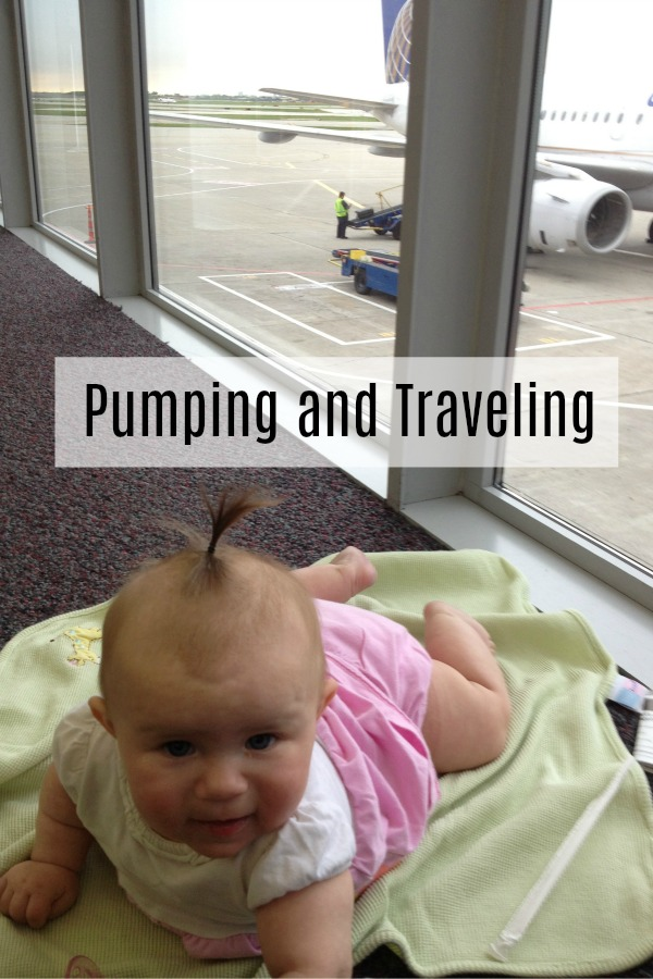 Pumping Breast Milk and Traveling