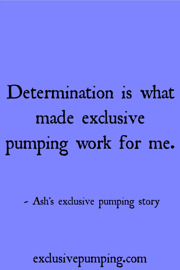 Ash's Exclusive Pumping Story