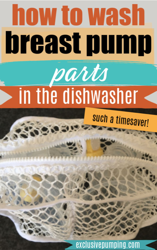 How to Wash Breast Pump Parts in the Dishwasher