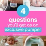 4 Questions You'll Get as an Exclusive Pumper