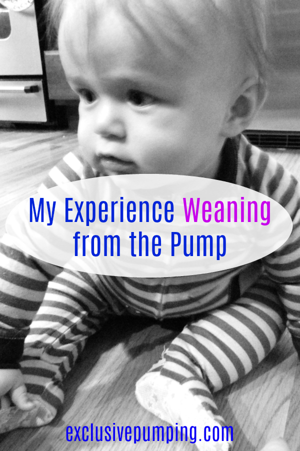 My experience weaning from the pump
