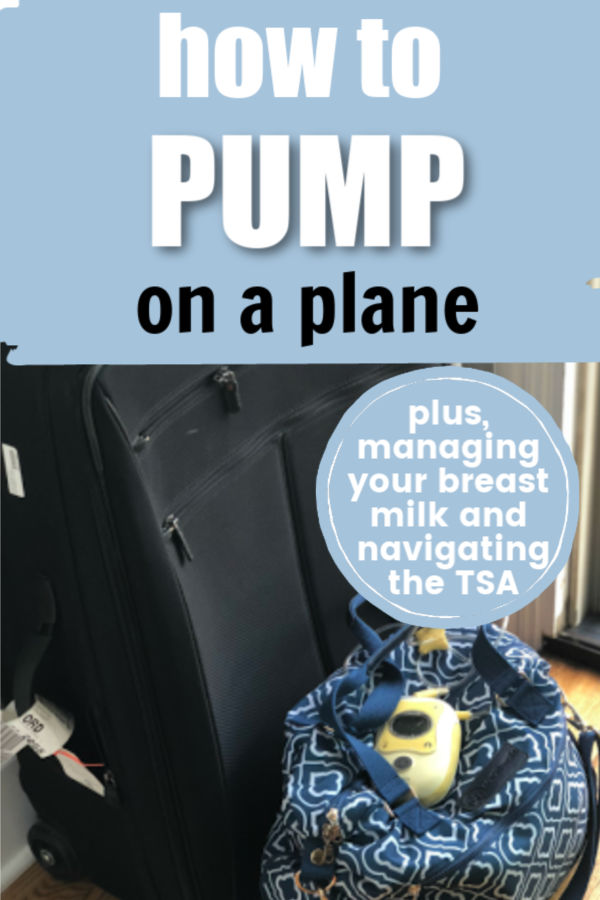 How to Pump on a Plane