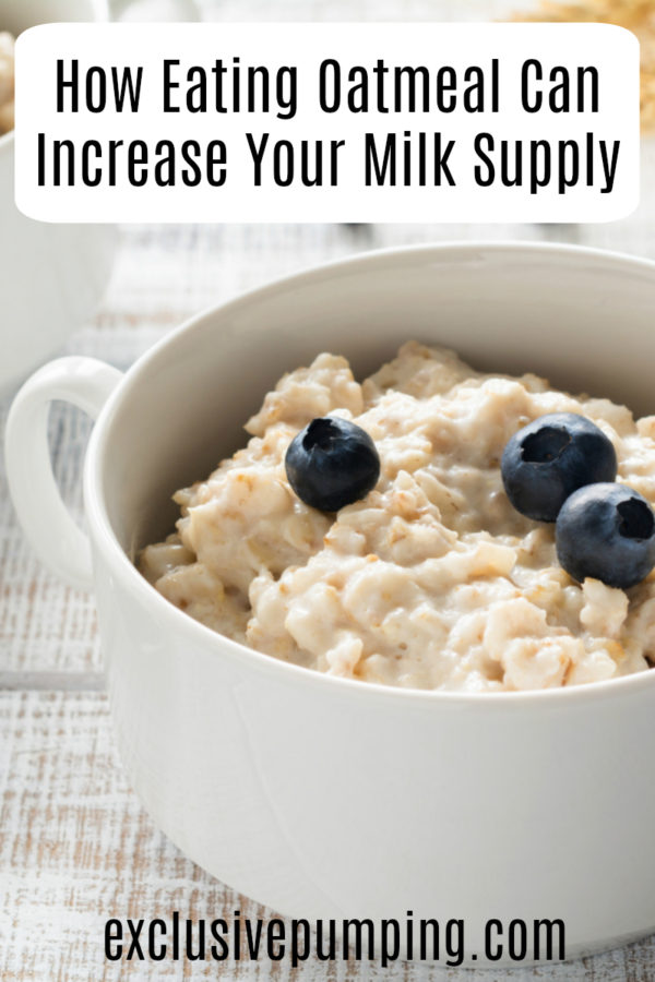Does Oatmeal Increase Milk Supply?