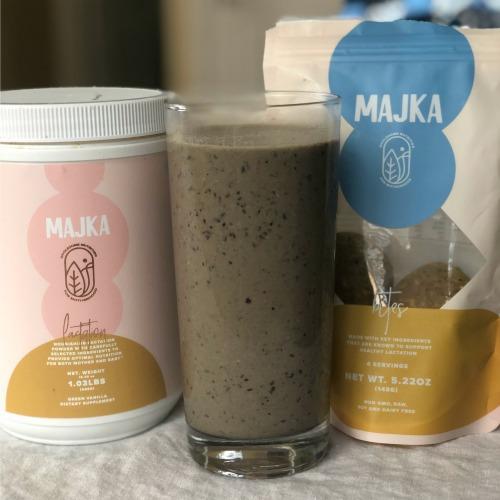 Majka Lactation Protein Powder and Lactation Bites
