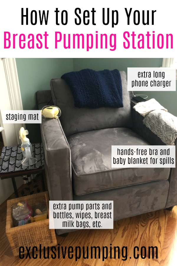 How to Set Up Your Breast Pumping Station