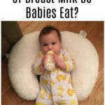 How Many Ounces of Breast Milk Do Babies Eat?