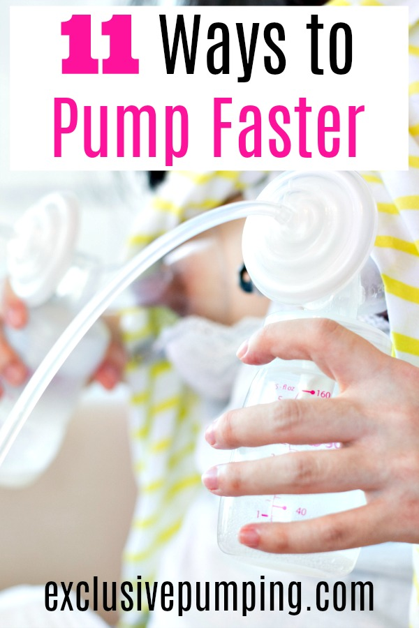 11 Ways to Pump Breast Milk Faster