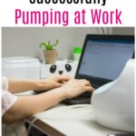 Tips to Successfully Pump at Work