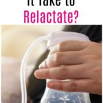 How Long Does It Take to Relactate?