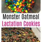 Monster Oatmeal Lactation Cookies