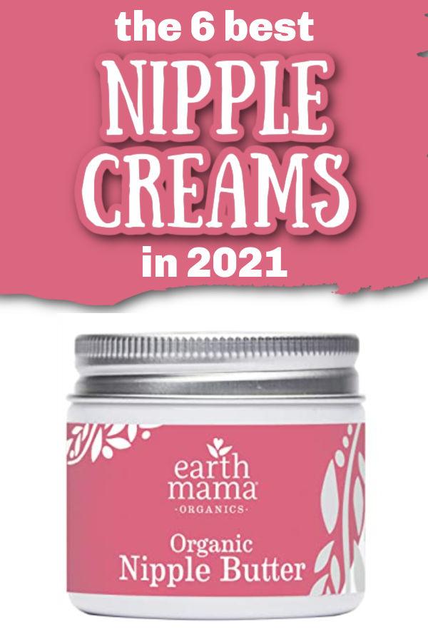 The 6 Best Nipple Creams in 2021 | Earth mama organics nipple cream on a white background