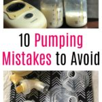 10 Pumping Mistakes to Avoid