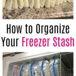 How to Organize Freezer Stash