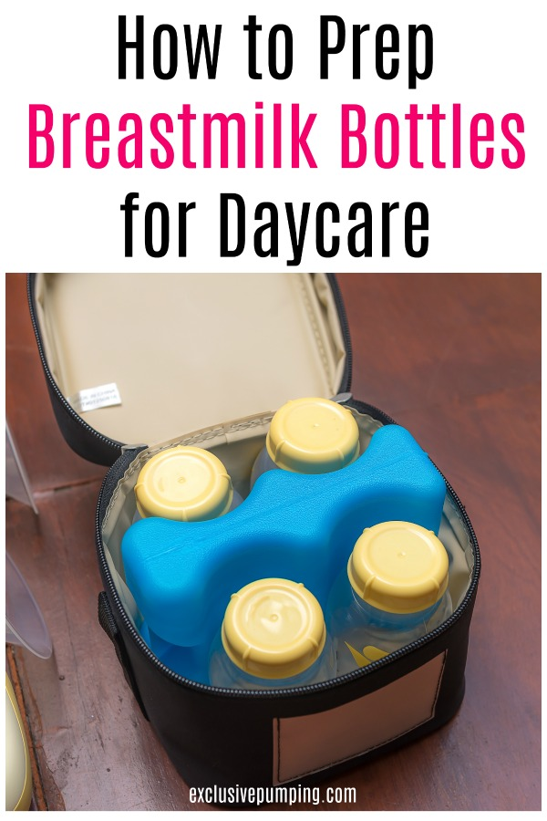 How to Prep Breastmilk Bottles for Daycare