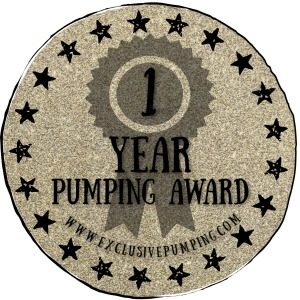 One Year Pumping Award