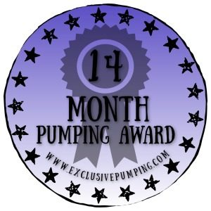14 Month Pumping Award