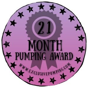 21 Month Pumping Award