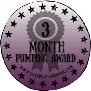 Three Month Pumping Award