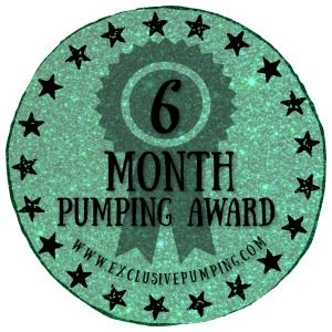 Six Month Pumping Award