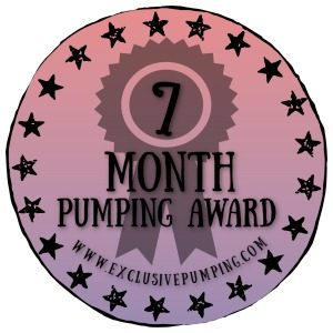 Seven Month Pumping Award