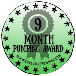 Nine Month Pumping Award