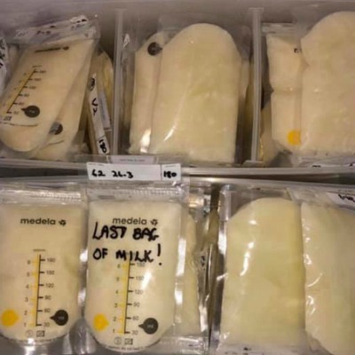 Breast Milk Freezer Stash Calculator: When Can I Stop Pumping?