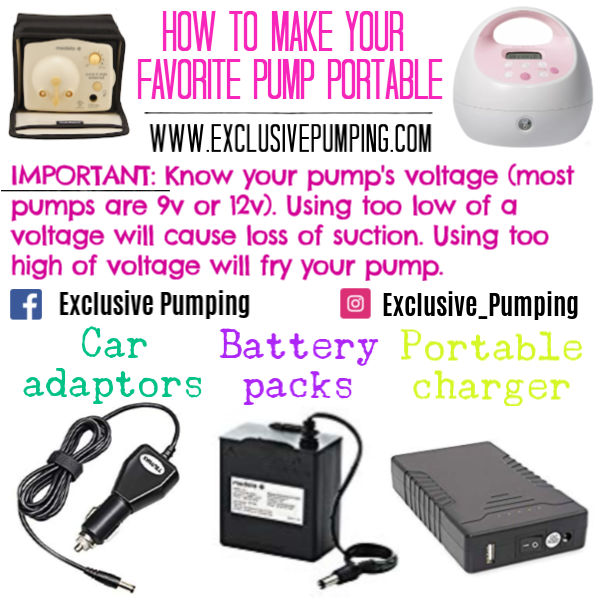 How to Make Your Favorite Pump Portable