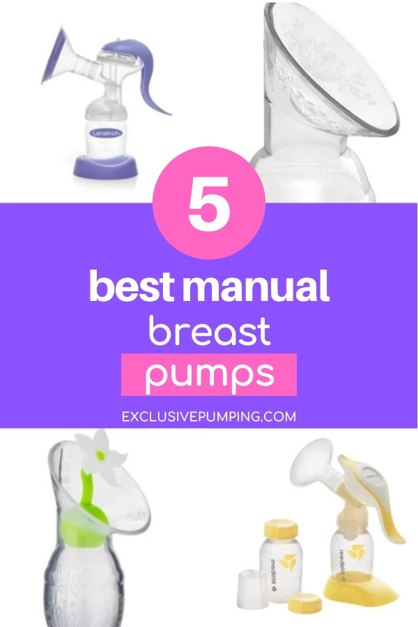 5 Best Manual Breast Pumps