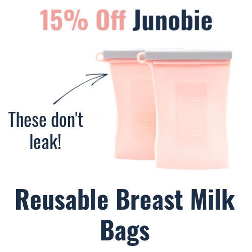 15% off Junobie Reusable Breast Milk Bags
