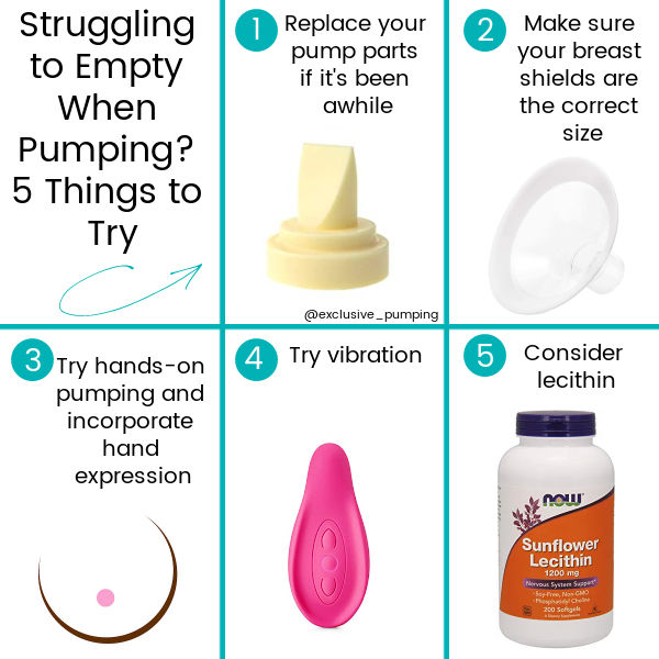 Struggling to Empty When Pumping? 5 Things to Try