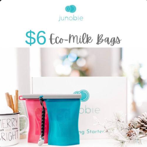 Junobie Reusable Breast Milk Bags Discount