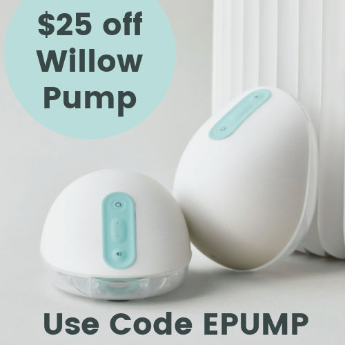 Use EPUMP for $25 Off Willow Pump | Willow Discount