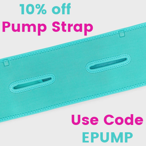 Teal Hands-free Pump Strap | 10% off Pump Strap Use Code EPUMP
