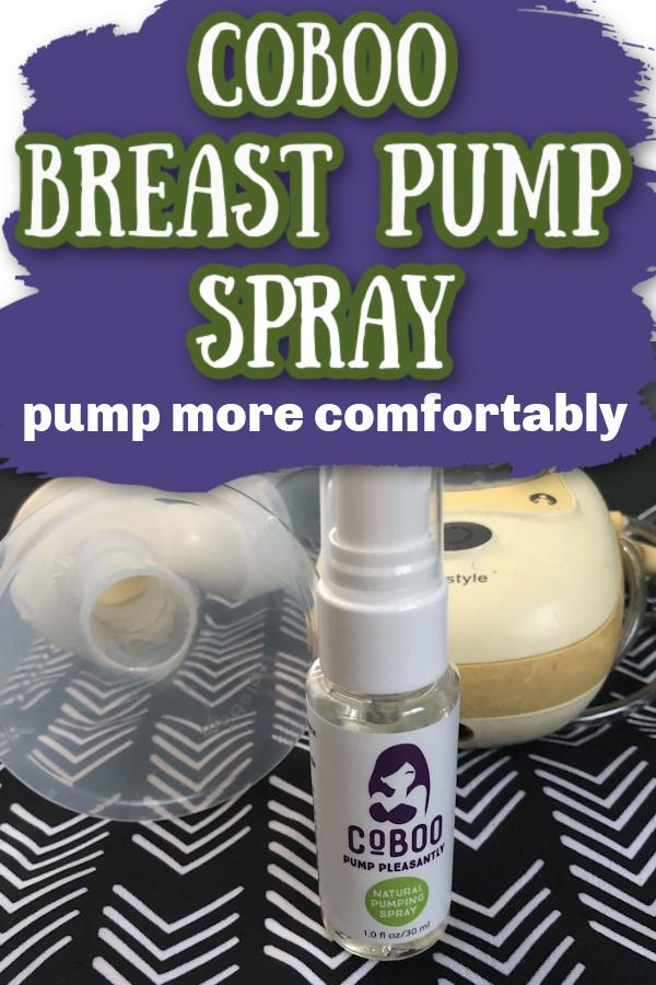 CoBoo Breast Pump Spray