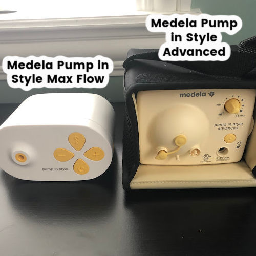 Medela Pump in Style with Max Flow vs Medela Pump in Style Advanced