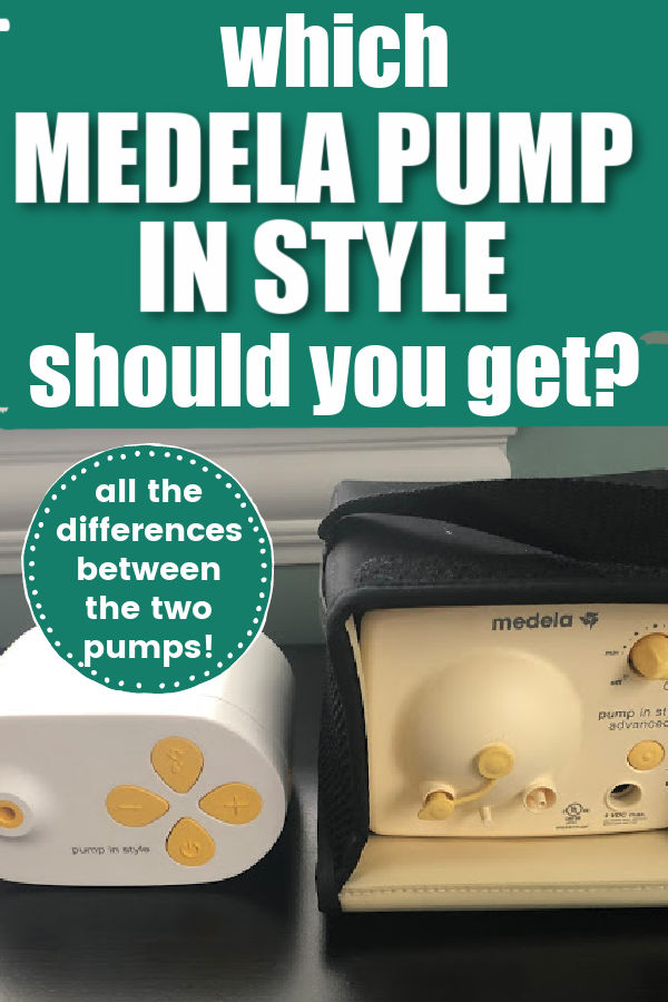 Which Medela Pump in Style Should You Get? Pump in Style Advanced vs Max Flow