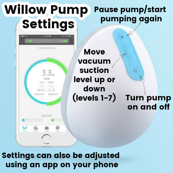 Willow Pump Settings