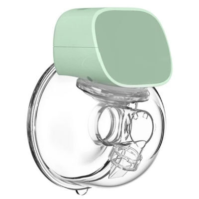 Moms Pump wearable breast pump on a white background