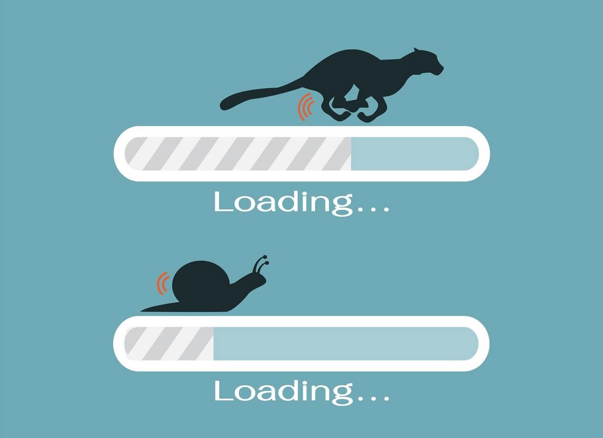 La importancia de la velocidad de carga de una web