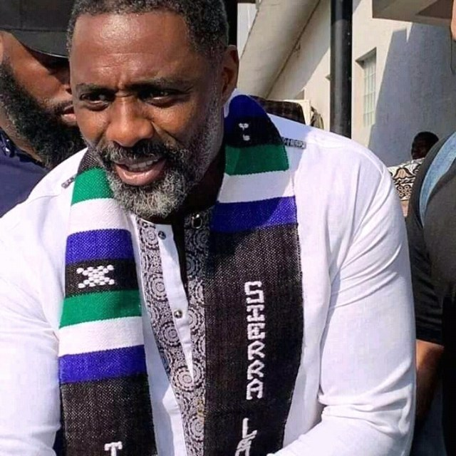 Idris Elba first visit to his father's country Sierra Leone