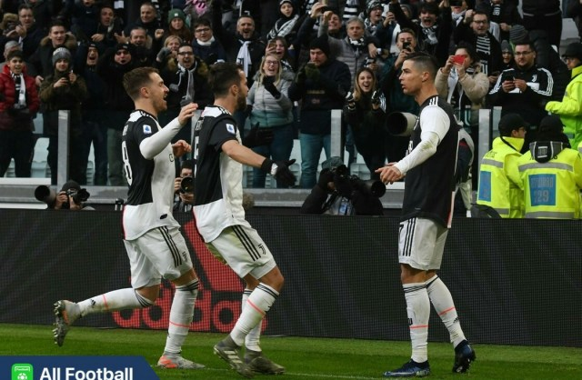 Juventus 4-0 Cagliari: Ronaldo starts 2020 with his 1st hat-trick in Serie A