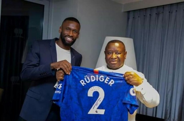 Antonio Rüdiger donates Le 1 Billion (USD 101,000) to support Free Quality Education in Sierra Leone
