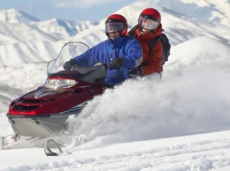 Motos de nieve biplaza en Andorra